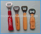 new fashion wooden bottle opener