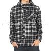 Men's Cotton Casual Long Sleeve Check Hoody