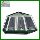 Dia 4.2m big hexagon garden camping tent