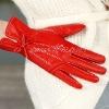 Genuine Leather,Unique Style,Women Fashion Finger Gloves