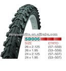 Middle Quality Cheapest Price Bicycle NYLON Tire