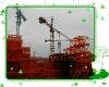 5t,50m,menara kren, industrial crane