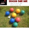 84mm Bocce ball set, PE ball,water ball