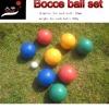 84mm Bocce ball set, PE ball,water ball
