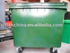 HDPE-outdoor 1100liter garbage can