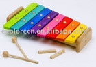 Wooden musical instrument toy
