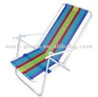 floding PVC steel tube garden beach chair