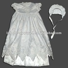 White Special Christening Gown and Bo-Peep Bonnet