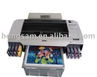 Hong Jet T-shirt flat bed printer/machine