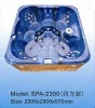 SQUARE WHIRLPOOL SPA MASSAGE BATHTUB