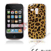 Glaring Leopard Cover Case for Samsung Galaxy S3 mini,for Samsung Galaxy S3 mini Case Cover