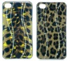for iphone 4g leopard design diamond hard cover