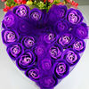 purple rose flowers for valentine's day