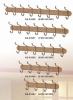 Wooden hook hanger