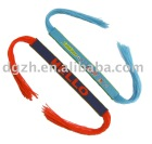 Kids wrist band, bracelets in fabric, Polyester fabric wrist strap