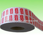 brand logo printed adhesive stickers in roll