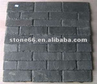 Roofing slate with nail hole