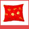High quality red flocking cushion cover(MA03-2)