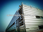 1000 sqm Large span fabric space steel structure frame (manufacture)