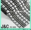 Square Plastic Mesh with chaton for clothes and shoes