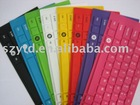waterproof/dustproof colorful silicone laptop keyboard cover