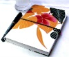 fabric cover notebook with pen