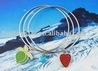 mixed style Fairy Beach Fruit Inspire Charm Triple Bangle Bracelet