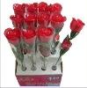 flashing rose flower for valentine's day