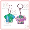 Novelty PVC Keychains/Keyrings