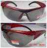 wraparound polycarbonate safety glasses compliant with ANSZ87.1 EN166 AS/NZS standard
