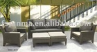 Indian market cheap rattan garden sofas JM-012