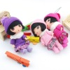 NEW DESIGNED !!! Hot-Selling Yarn Doll Key Chain