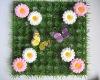 New Hot Sale Quality Green Artificial Boxwood Grass Mat(high Density)