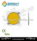 4 years warranty ceramic cob led light source 30w 28*28mm