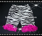 animal print with ruffle short