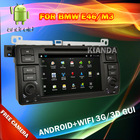 Auto Radio Car DVD for BMW E46 with android/Wifi/3G/GPS/BT/TV/Radio/Canbus