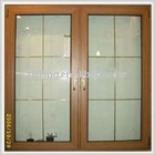 Aluminum composite wood door