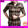 hot sell plaid shirts for men