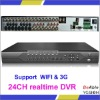 CIF 24 Channel DVR, 8 RCA Audio Input 8CH Alarm Input DVR,H.264 Stand Alone DVR(VG-S5024)