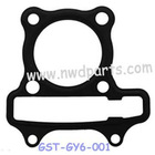 GY6-50 Cylinder Gasket, scooter engine parts