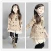 2012 New Children's jackets / Coats girls /Children's long coat =JD-KJA024