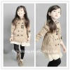 2012 New Children's jackets / Coats girls /Children's long coat =JD-KJA024