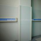 hospital use antibacterial crashworthy PVC handrails