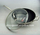 Stainless steel Non-stick frying pans 32cm