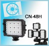 NanGuang CN-48H LED on camera light video light for DV camcorder photography
