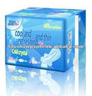 Supper thin /large absorbed dose sanitary napkin for women