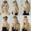 Fashion styles Europe style wigs natural straight hair wigs