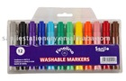 jumbo washable color marker pen .CE