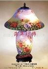 hand painted lamp/desk lamp/table lamp/art lamp H16J-018