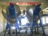rotating steaming boiler